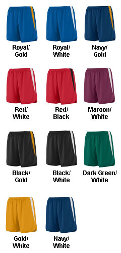 Ladies Velocity Track Short - All Colors