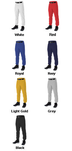 Youth Stock Baseball Pant by Alleson - All Colors