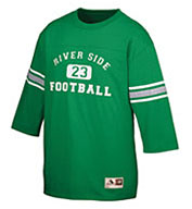 Adult Old School Football Jersey T-Shirt
