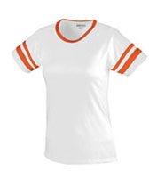 Girls Cotton/Spandex Retro Camp Tee