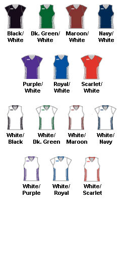 Girls Anthem Racerback Lacrosse Game Jersey - All Colors