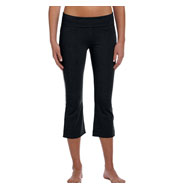 Custom Bella - Ladies Cotton/Spandex Capri Pants