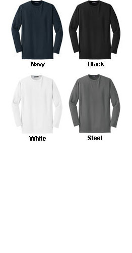 Sport-Tek� - Dri-Mesh� Long Sleeve T-Shirt - All Colors