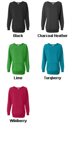 J. America - Ladies Open Neck Tunic - All Colors