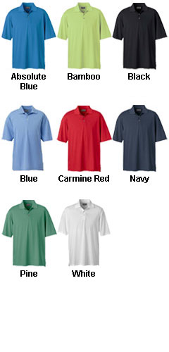 Ashworth Mens High Twist Cotton Tech Polo - All Colors