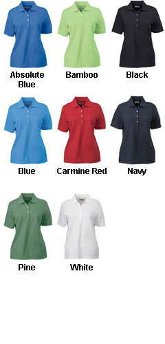 Ashworth Ladies High Twist Cotton Tech Polo - All Colors