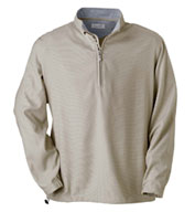 Ashworth Mens Houndstooth Half-Zip Jacket