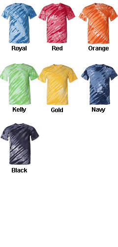Youth Tiger Stripe Tie Dye Tee - All Colors