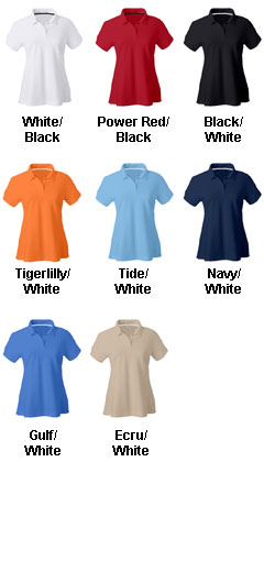 Adidas Golf Womens ClimaLite� Tour Pique Short-Sleeve Polo - All Colors