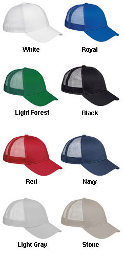 6-Panel Structured Trucker Cap - All Colors