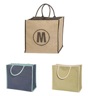 Custom Super Jute Lined Tote Bag