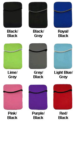 Neoprene Ipad Sleeve - All Colors