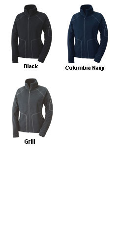 Ladies Columbia Fast Trek Full Zip Jacket - All Colors
