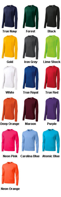 Sport-Tek® - Long Sleeve Competitor™ Tee - All Colors