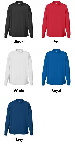 Youth Wicking Mock Turtleneck - All Colors