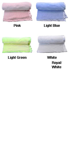 Deluxe Plush Baby Blanket - All Colors
