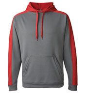 Custom J America  Polyester Fleece Hooded Pullover
