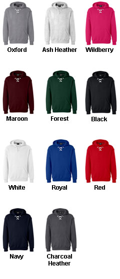 Sport Lace Hooded Sweatshirt by J. America - All Colors