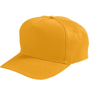 Youth Five-Panel Cotton Twill Cap With Snap Back