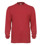 Adult Badger B-Tech Long Sleeve Tshirt