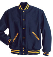 Custom All Wool Letterman Jacket Mens