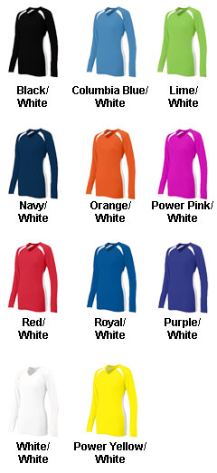 Ladies Spike Volleyball Jersey - All Colors