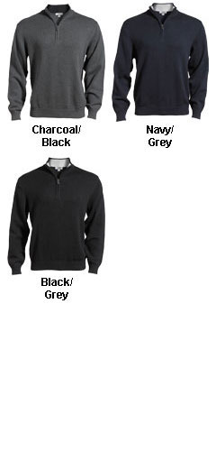 Quarter-Zip Sweater by Edwards - All Colors