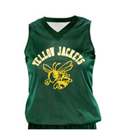 Girls Fadeaway Reversible Basketball Jersey