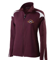 Ladies Illusion Warm Up Jacket by Holloway