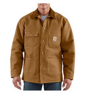 Mens Duck Chore Coat/Blanket-Lined by Carhartt