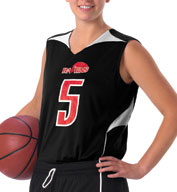 Womens Reversible Basketball Jersey by Alleson