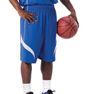 Mens Reversible Basketball Short by Alleson