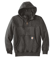 Heavyweight Quarter Zip Hooded Sweatshirt by Carhartt
