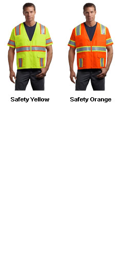CornerStone ANSI-Class 3 Dual-Color Safety Vest - All Colors