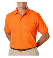 ANSI Compliant, HI Vis Polo Shirt
