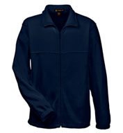 Custom Mens 8 oz. Full-Zip Fleece Jacket