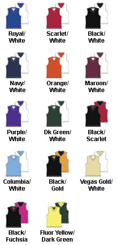 Womens Fadeaway Reversible Basketball Jersey - All Colors