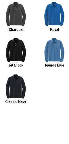 Rapid Dry� Long Sleeve Polo - All Colors
