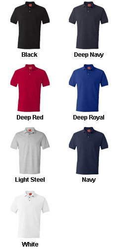 Hanes Mens 7 oz. ComfortSoft® Cotton Piqué Polo - All Colors