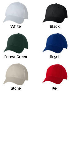 Bayside� Cotton Chino Twill Cap - All Colors