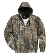 Custom Carhartt Midweight WorkCamo® AP Hooded Zip-Front Sweatshirt