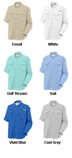 Columbia Bahama II Long Sleeve Fishing Shirt - All Colors