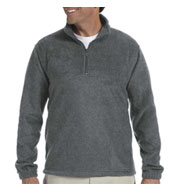Custom Harriton 8 oz Quarter Zip Fleece