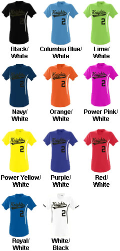 Ladies Heat Jersey - All Colors