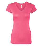 Next Level Ladies V-Neck T-Shirt