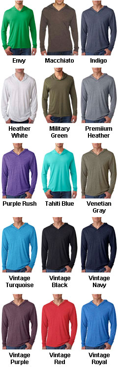 Next Level Adult Tri-Blend Hoodie - All Colors