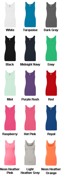 Next Level Ladies Tri-Blend Jersey Tank - All Colors
