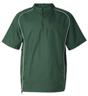Custom Rawlings Short Sleeve 1/4 Zip Pullover Mens