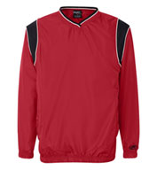 Rawlings V-Neck Micro Poly Windshirt