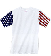 Youth Code V Stars & Stripes T-shirt